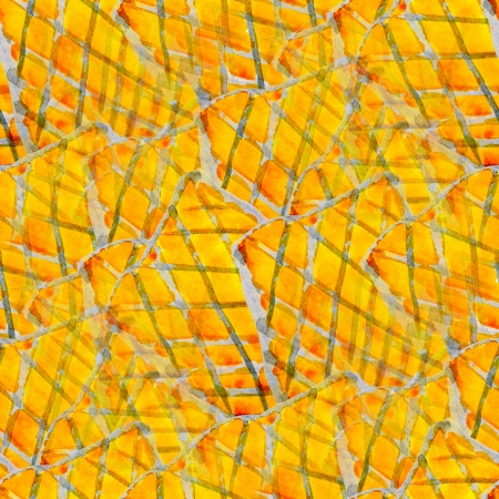 yellow abstract watercolor art seamless texture hand painted background photo