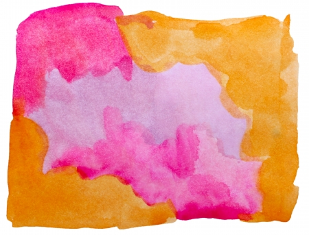 prejudiced: art brown, purple watercolor isolated for your design
