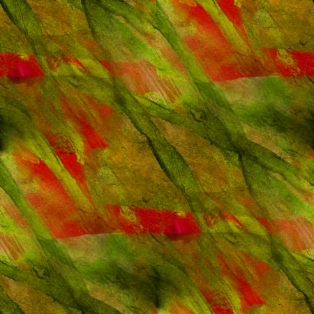 background green, red watercolor art seamless texture abstract brush photo