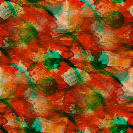 background red, green watercolor art seamless texture abstract b photo