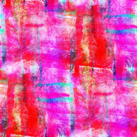 abstract avant-garde red, pink, blue seamless wallpaper watercol photo
