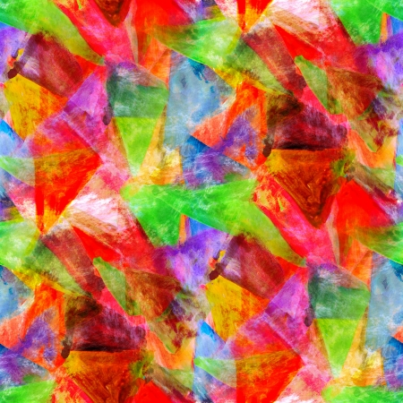 ar: abstract red, green avant-garde seamless wallpaper watercolor ar Stock Photo