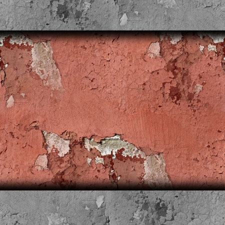 red wall plaster cracks paint background texture wallpaper photo