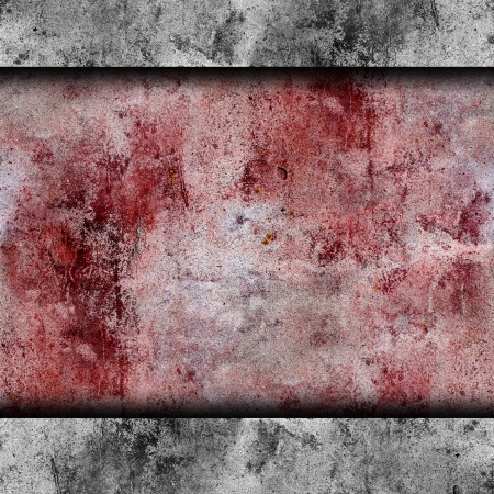 red wall blood stains plaster cracks paint background texture wa photo