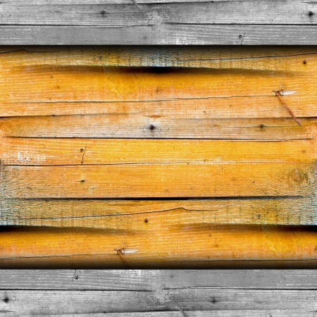 texture wooden fence old yellow background your message wallpape photo