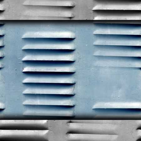 grunge texture of old iron shutters ventilation wallpaper photo