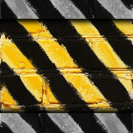 yellow black stripe texture background grunge fabric abstract st photo