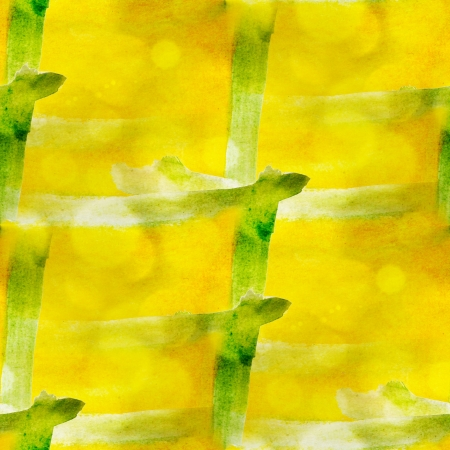 art avant-garde hand paint background yellow, green seamless wal photo