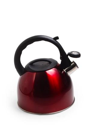 tetsubin: kettle isolated utensils appliance kitchen asian hot design teap Stock Photo
