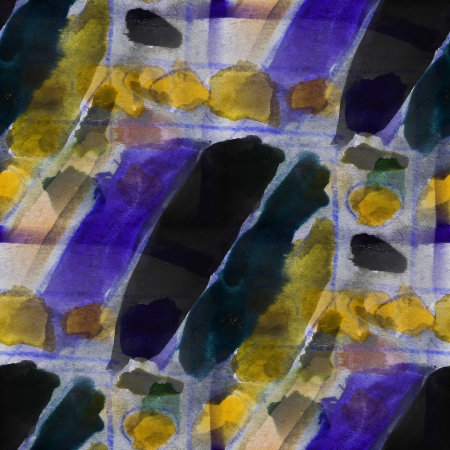 picasso: seamless cubism abstract art Picasso texture yellow, purple wate