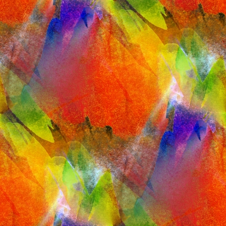 picasso: background seamless watercolor texture red, yellow, green abstra