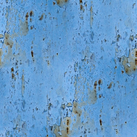seamless texture background  blue metal rust rusty old paint grunge iron abstract photo