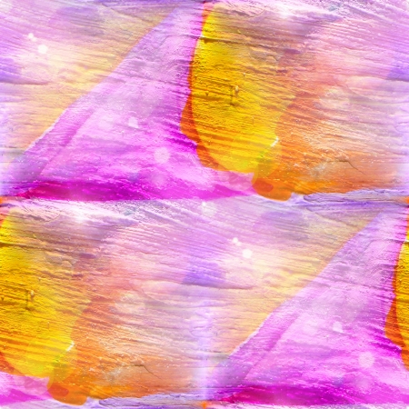 picasso: sun glare abstract purple, yellow seamless painted watercolor background and paper texture