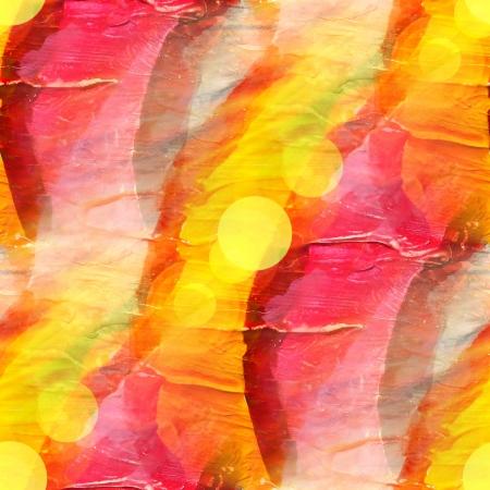 daub: sun glare watercolor blue red yellow stripes background abstract paper art daub  texture wallpaper