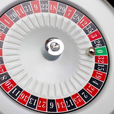 American a Roulette table game sealed white photo