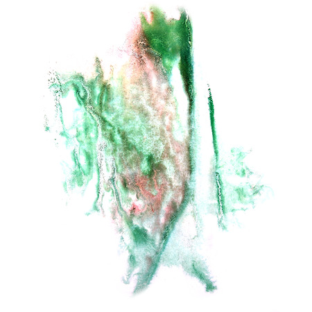 ink stain: paint green splash ink stain watercolour blob spot brush watercolor abstract background texture