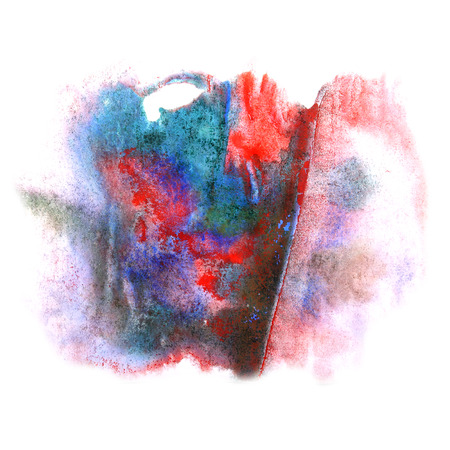 ink stain: paint splash ink stain watercolour blue, green, red blob spot brush watercolor abstract background texture