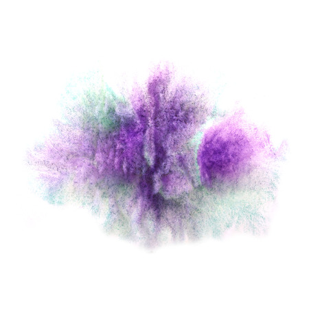 ink stain: paint violet, green splash ink stain watercolour blob spot brush watercolor abstract background texture