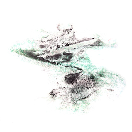ink stain: paint violet, green, black splash ink stain watercolour blob spot brush watercolor abstract background texture