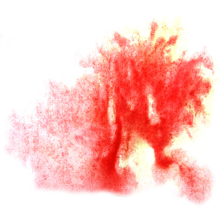 ink stain: paint red splash ink stain watercolour blob spot brush watercolor abstract background texture