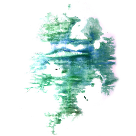 ink stain: paint splash green, blue ink stain watercolour blob spot brush watercolor abstract background texture