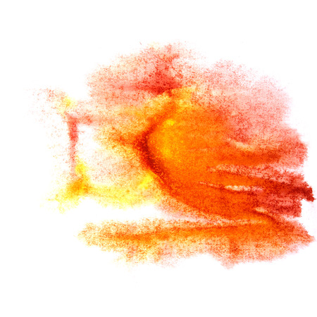 ink stain: paint splash ink stain red, orange watercolour blob spot brush watercolor abstract background texture