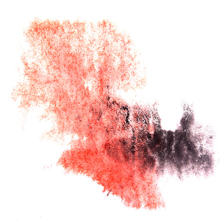 ink stain: paint splash red, black ink stain watercolour blob spot brush watercolor abstract background texture