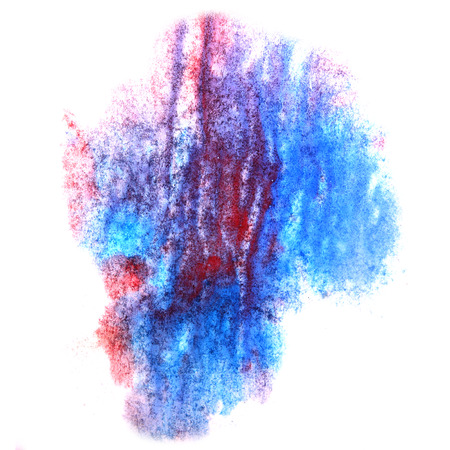 ink stain: paint splash red, blue, pink ink stain watercolour blob spot brush watercolor abstract background texture