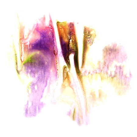 ink stain: paint violet, pink, green splash ink stain watercolour blob spot brush watercolor abstract background texture