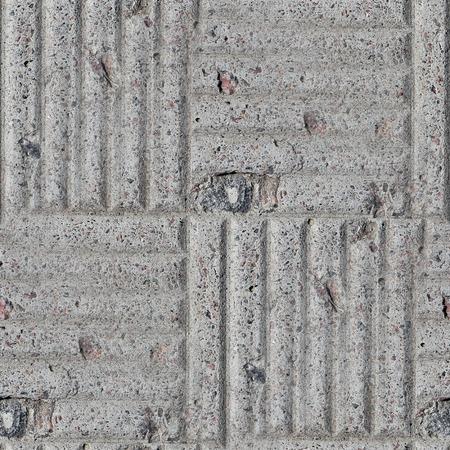 cobblestone street: Pavement stone gray road seamless background texture Stock Photo
