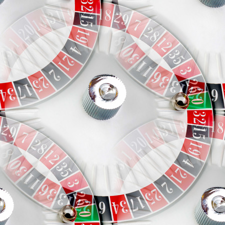 Seamless texture and the American roulette casino photo