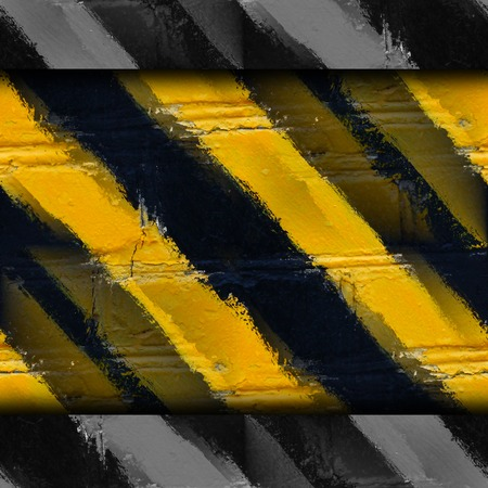 yellow black stripes stone wall wallpaper photo