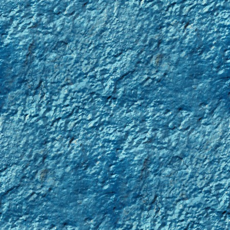 paint drips: concrete wall of blue paint drips rough surface seamless backgro