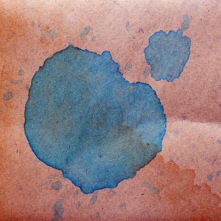 blob: watercolor abstract background blue paint color blob design spla