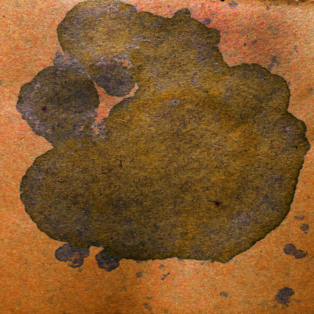 blob: watercolor abstract background brown paint color blob design spl