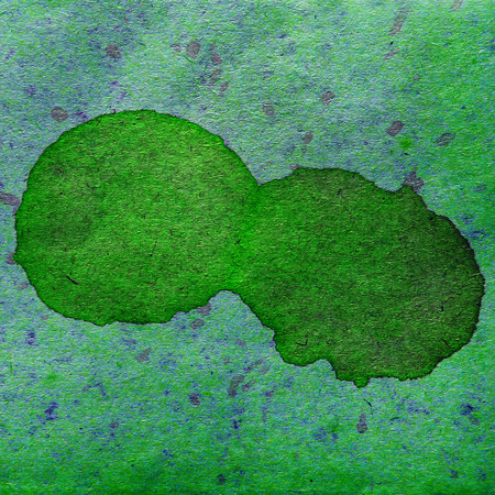 spl: watercolor abstract background paint color blob green design spl