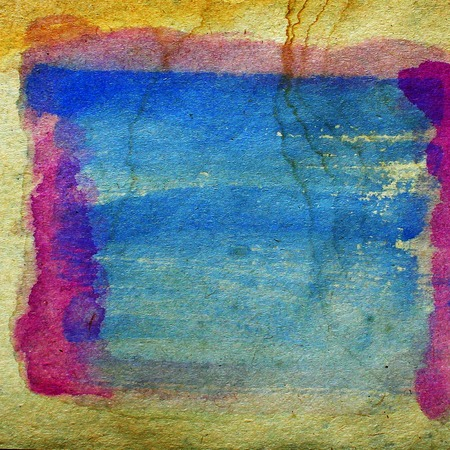 blob: watercolor blue, red abstract background paint color blob design Stock Photo