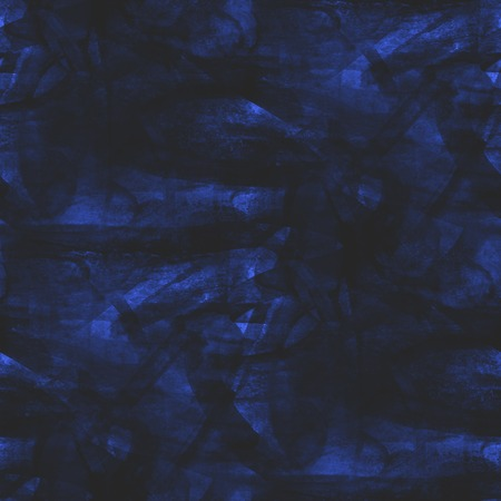 picasso: blue seamless cubism abstract, art Picasso texture watercolor wallpaper background Stock Photo