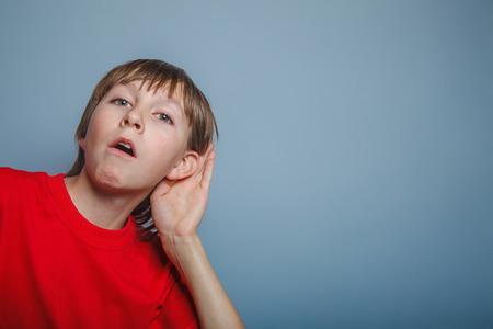 decade: European appearance  boy overhears  a decade, interest, ear on g