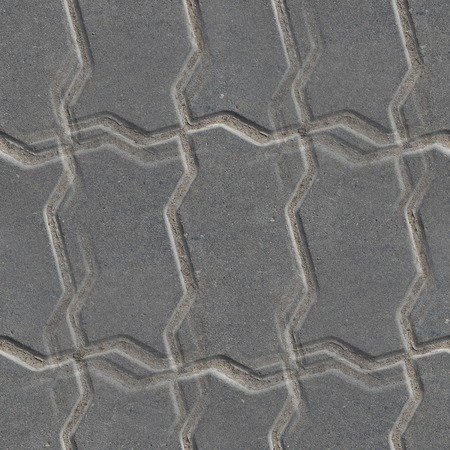 road paving: Pavement road stone seamless background texture Stock Photo