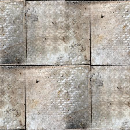 cobblestone street: Pavement stone road seamless texture background Stock Photo
