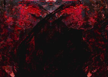 diable rouge: abstrait texture diable rouge