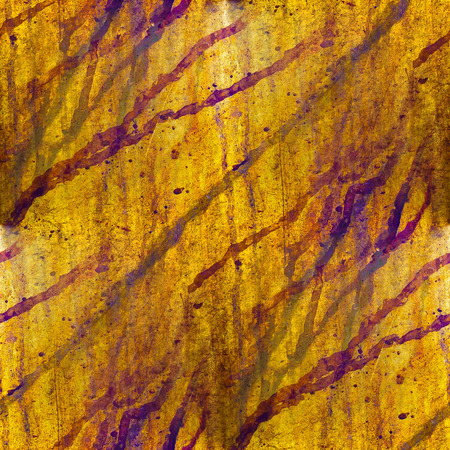 corroded: africa grunge texture iron wall  yellow background blots Stock Photo