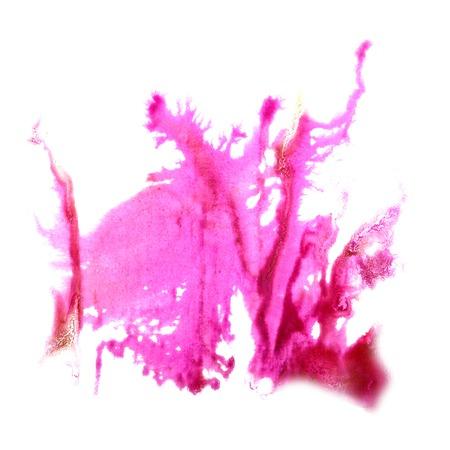 trabajo manual: Blot divorciarse La rosa ilustraci�n art�stica del trabajo hecho a mano es aislado