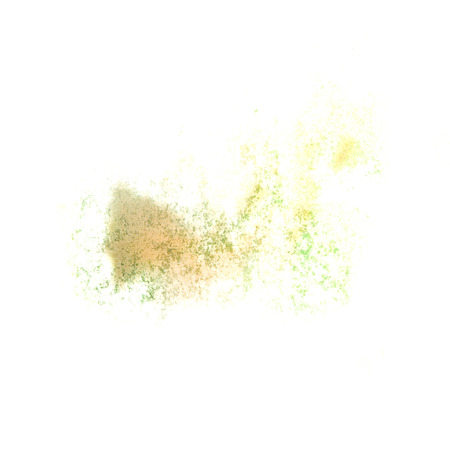 insult: Abstract watercolor lettuce yellow background for your design insult Stock Photo