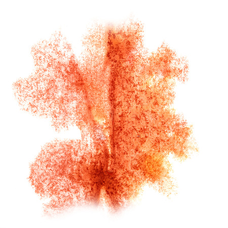 insult: Abstract watercolor orange background for your  design  insult Stock Photo