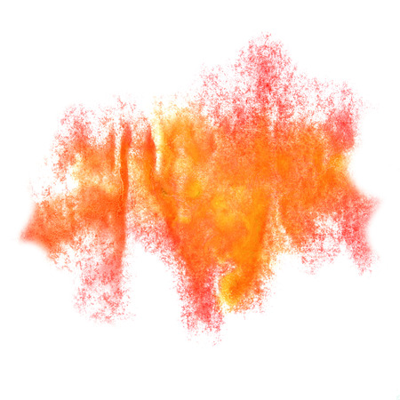 insult: Abstract watercolor pink,orange background for your design insult
