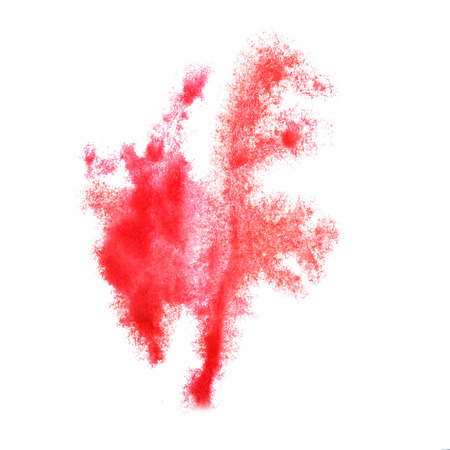 insult: Abstract watercolor red  background for your  design insult