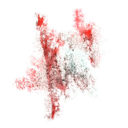 insult: Abstract watercolor red,green background for your  design insult Stock Photo