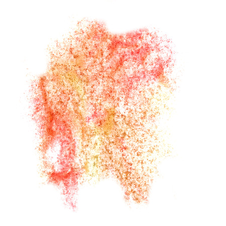 insult: Abstract watercolor red,yellow background for your  design insult